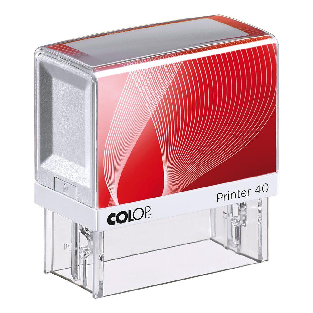 Stempel COLOP Printer 40 (max. 59x23mm - 6 Zeilen)