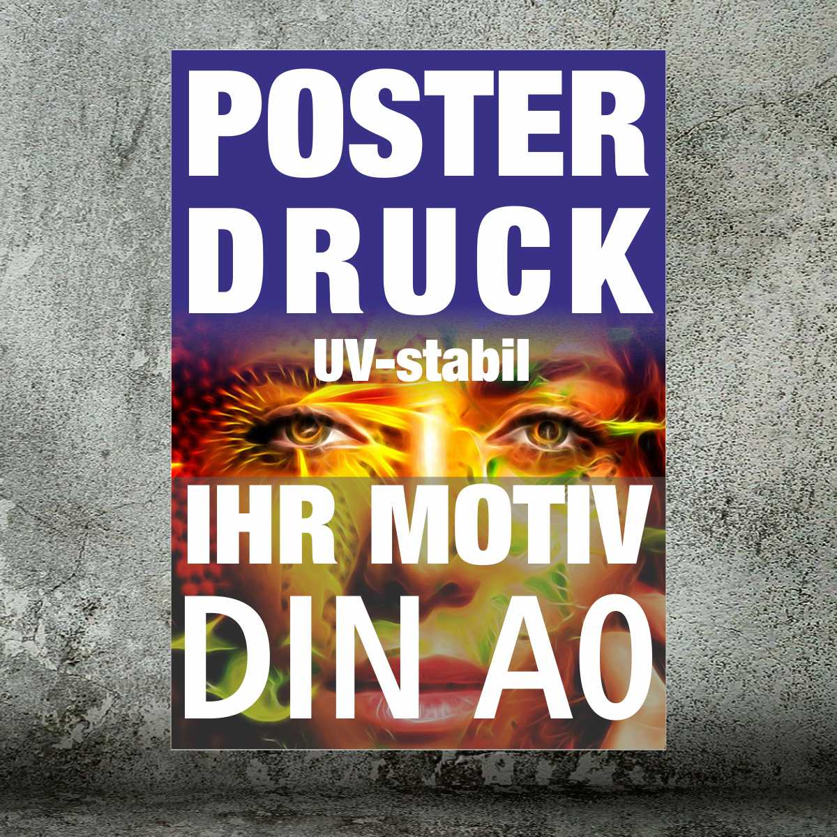 Plakate und Poster · DIN A0 4/0-farbig (ab 1 Stück)