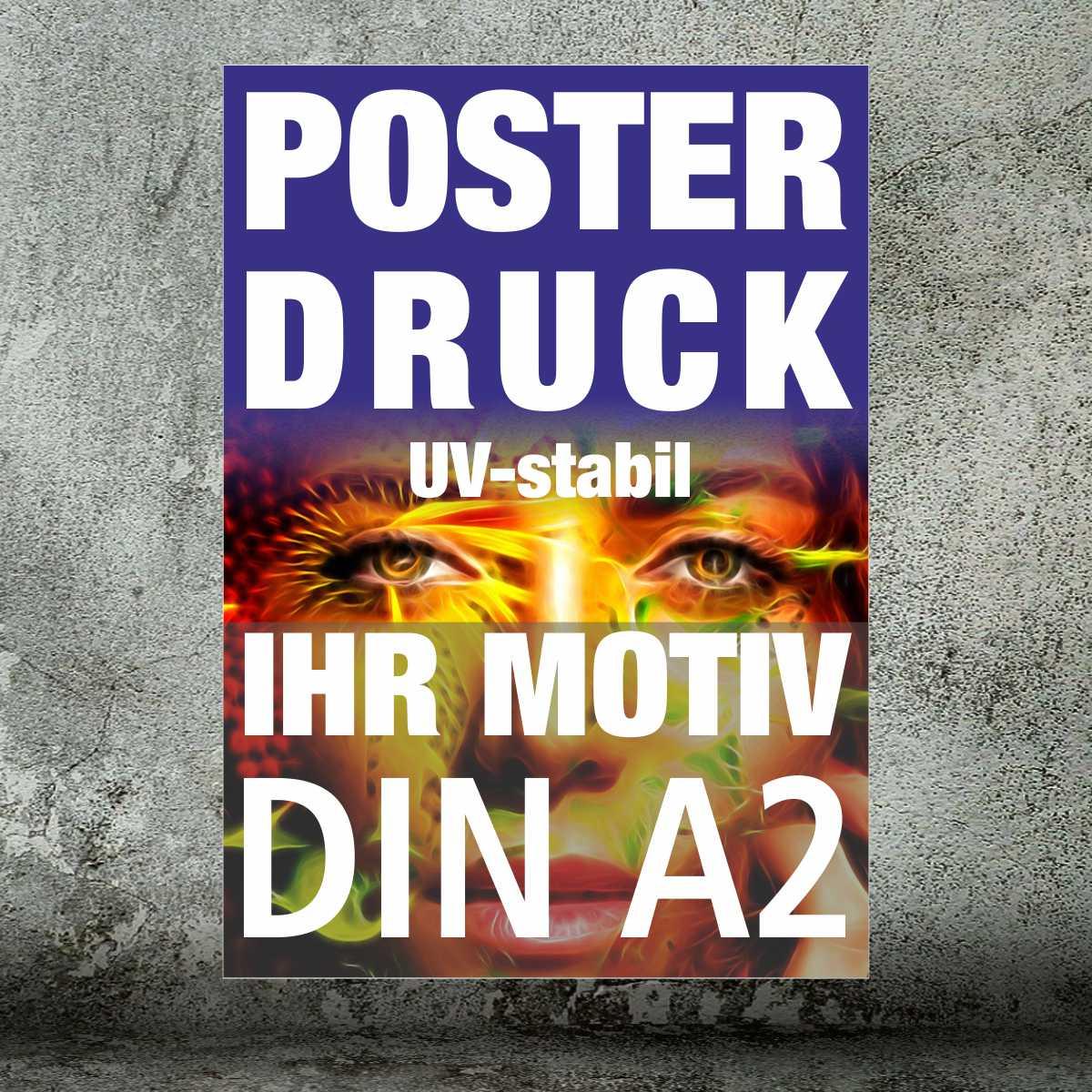Plakate und Poster · DIN A2 4/0-farbig (ab 1 Stück)
